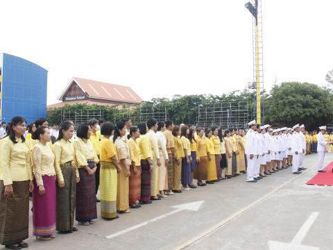 โรงเรียนสตรีศึกษาจัดงาน วันเฉลิมพระชนมพรรษา 66 พรรษารัชกาลที่ 10