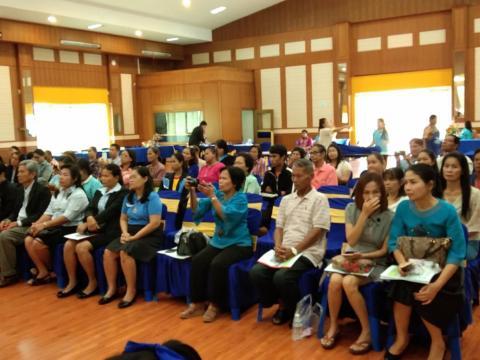งานแนะแนวจัดพิธีมอบทุนมูลนิธิสตรีศึกษาร้อยเอ็ด