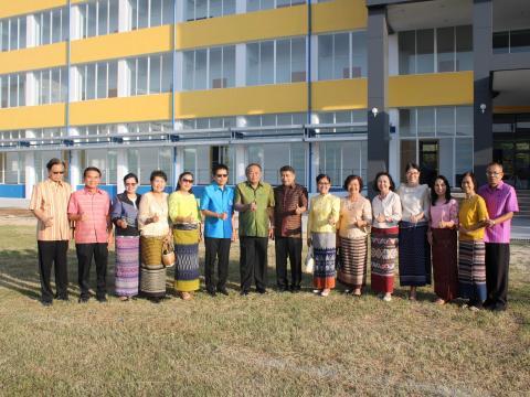 ทำบุญขึ้นอาคารใหม่ อาคาร ๑๐๑ ปี สตรีศึกษา