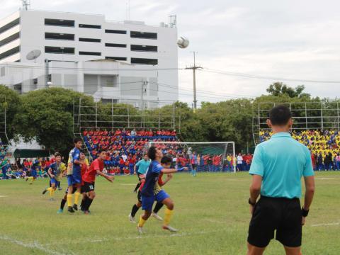 ฟุตบอล สพม.27 ลีค ครั้งที่ 1 สตรีศึกษา vs โพนทองพัฒนาวิทยา [07.1